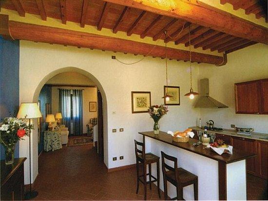 Il Borgo di Villa Bossi-Pucci: Breakfast Kitchen
