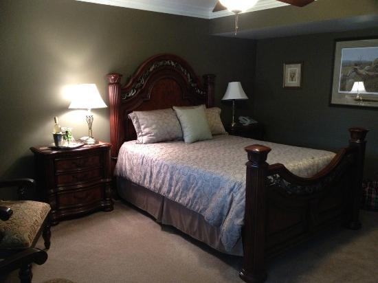 The Del Ray B&B: Spacious room with a queen size bed!