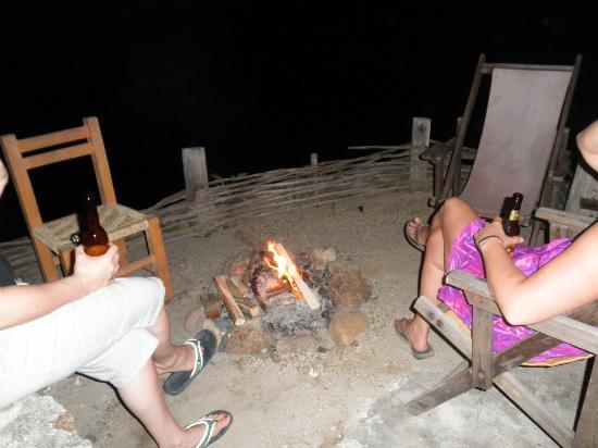Casa Santa Cruz: Firepit