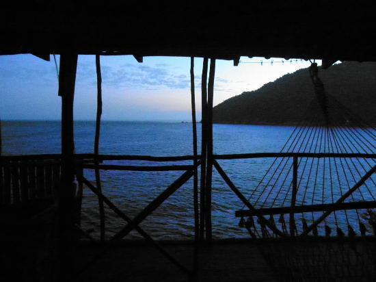 Casa Santa Cruz: view from your haning bed