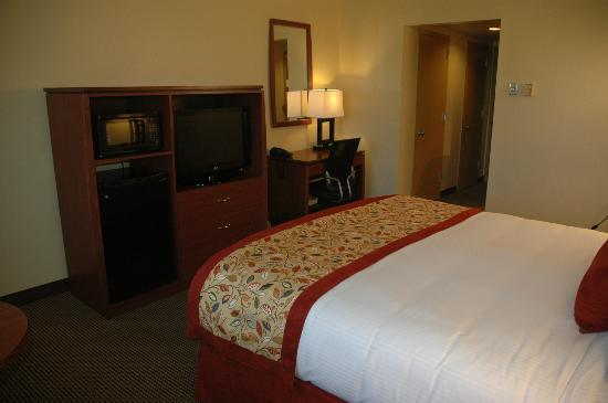 University Hotel at Sam Houston State: Wonderful.