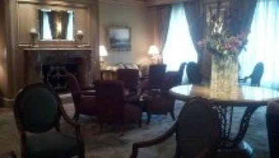 The Ritz-Carlton, Cleveland: hospitality room lounge
