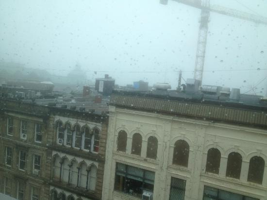 Delta Hotels by Marriott Barrington: View on a foggy day