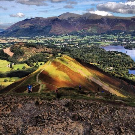 Stonegarth Guest House: The view from catbells