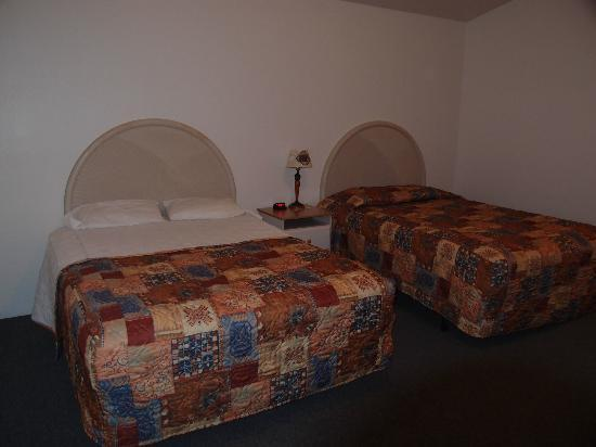 Big Bear Motel: Our room with two beds