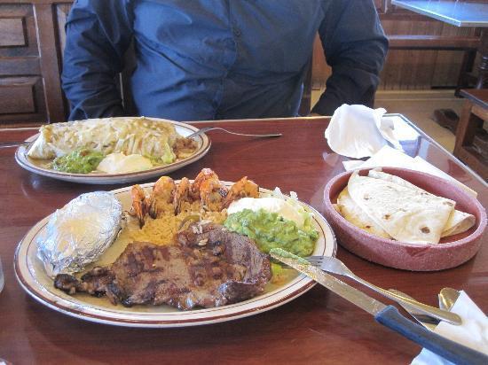 Our meal at Guadalajara Grill
