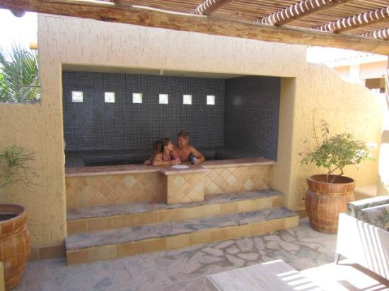 Hamman's Vacaciones de Renta en Loreto: Enjoying the fantastic spa!