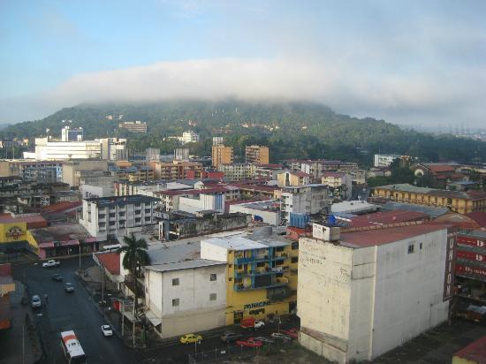 Caribe Hotel: Desde azotea, cerro Ancón