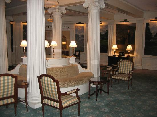 The Omni Homestead Resort: Special events room, but when not busy, a great area to lounge