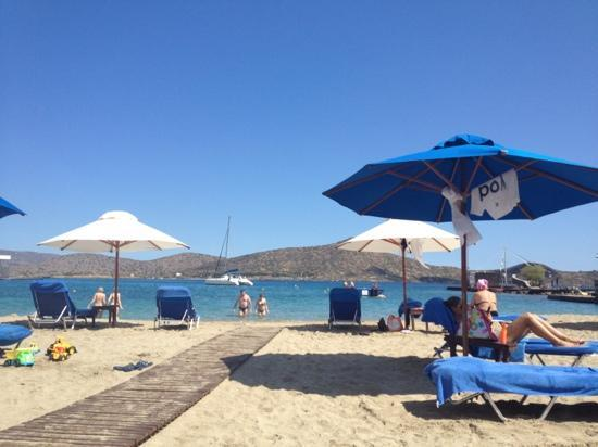 Elounda Beach Hotel & Villas: the bigger beach