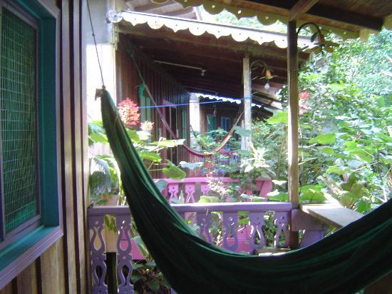 Playa Chiquita Lodge: Porch Hammock