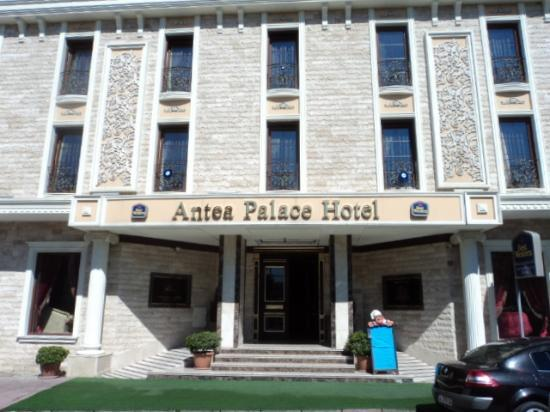 Best Western Antea Palace Hotel & Spa: front of hotel