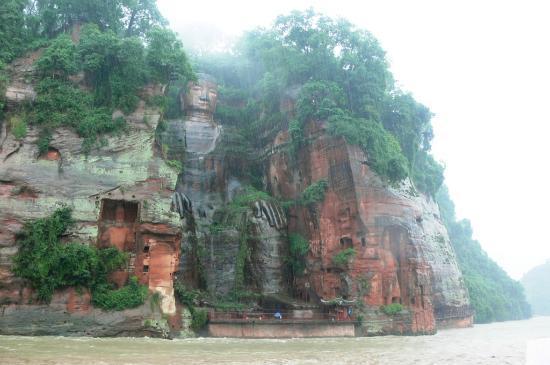 Leshan, Chiny: O Grande Buda