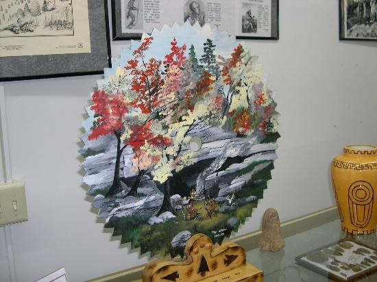 Wayne County Historical Museum: Saw Blade Painting at the Museum