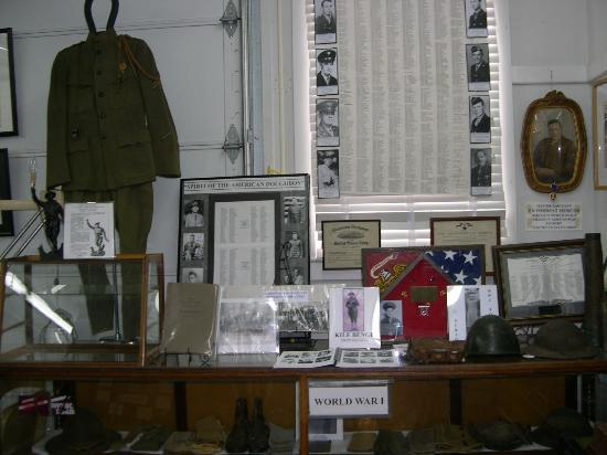 Exhibit at the Wayne County Historical Museum