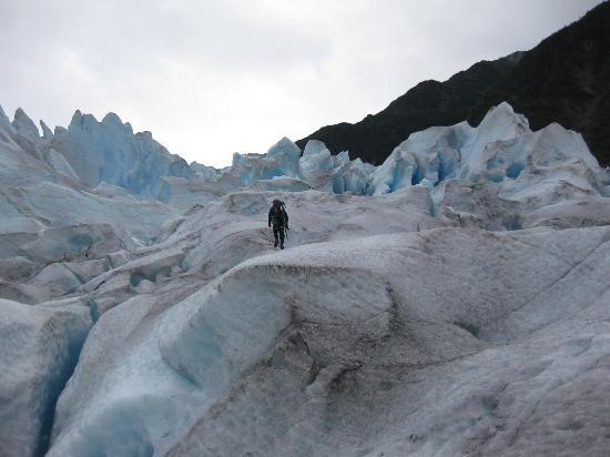 Above & Beyond Alaska: On the glacier