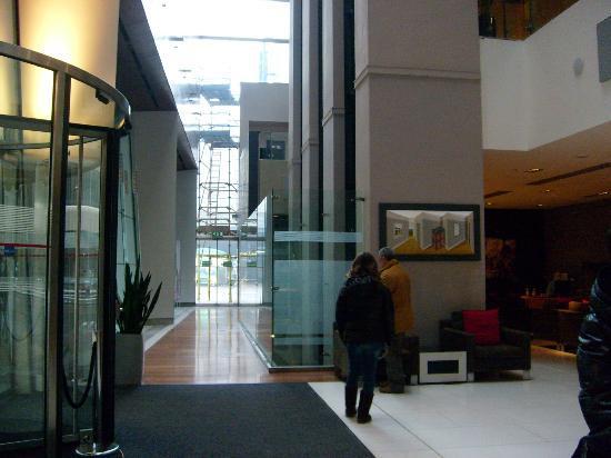 Radisson Blu Hotel, Glasgow: acceso