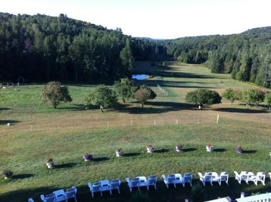 Auberge Val Carroll: view
