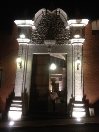 Casa Andina Premium Arequipa: entrada principal