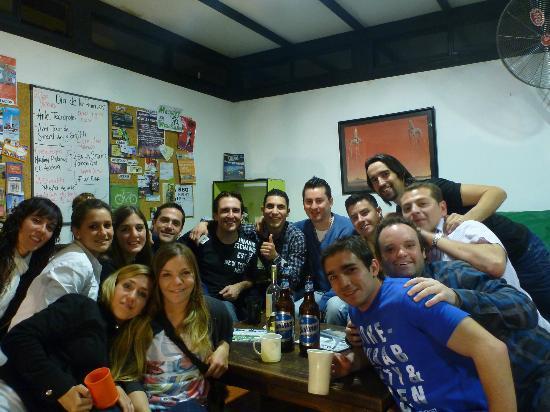 Garden House Hostel: amigos