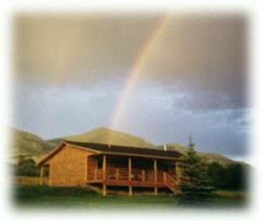 Hidden Hollow Hideaway Cattle and Guest Ranch: The main Lodge, where guests have meals