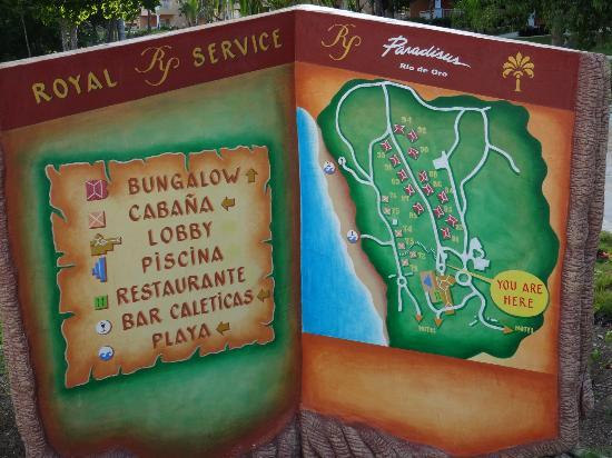 Paradisus Rio de Oro Resort & Spa: RS map