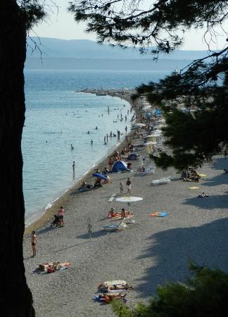 Bluesun Hotel Elaphusa: Das Kap von der Promenade aus gesehen