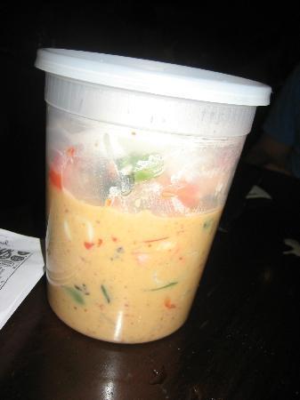 Sweet Basil Thai Cuisine Eugene: Leftovers we were so full