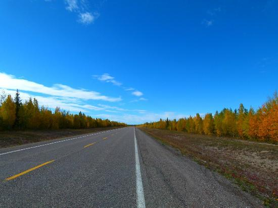 North Star Adventures: The Mackenzie highway and big sky