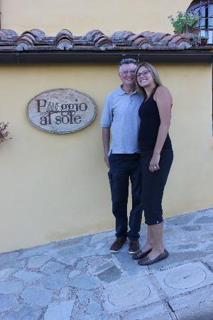 Agriturismo Poggio al Sole: Giovanni and I