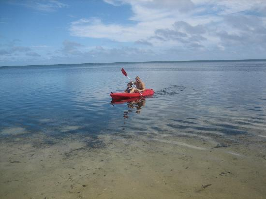 Royal Sunset Island Resort: kayak fun for all the family
