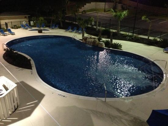 Holiday Inn Dothan: the awesome view from my balcony