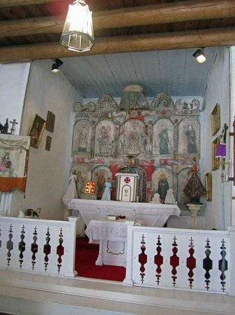 Truchas, NM: Altar Screen