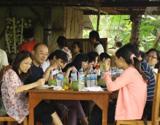 Gianyar, Indonesien: Restorant