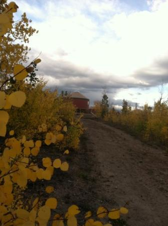 Snow Mountain Ranch: loving the yurt in the fall