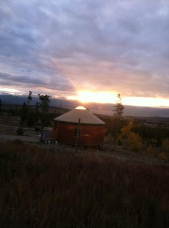 Snow Mountain Ranch : sunrise