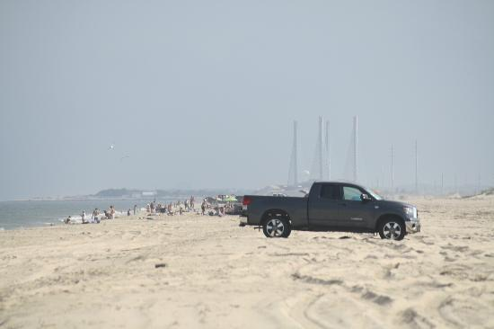 Delaware Seashore State Park : view from the east