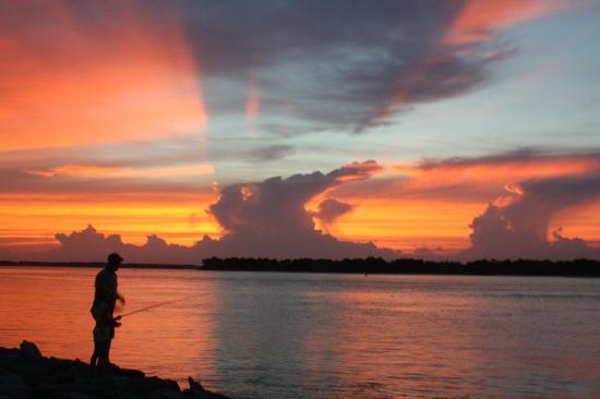 Delaware Seashore State Park : sunset