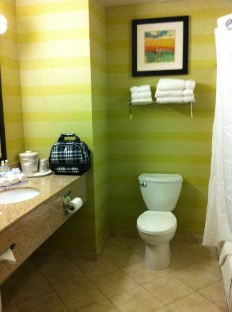 Holiday Inn Express Red Bluff - South Redding Area: big bathrooms!