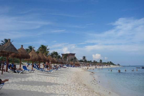 Grand Bahia Principe Tulum: playa