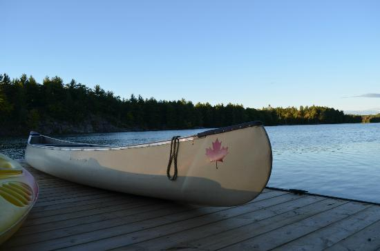 Barndens by the Bay B&B: The beach - lake