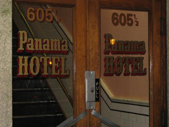 Panama Hotel: Front foor 