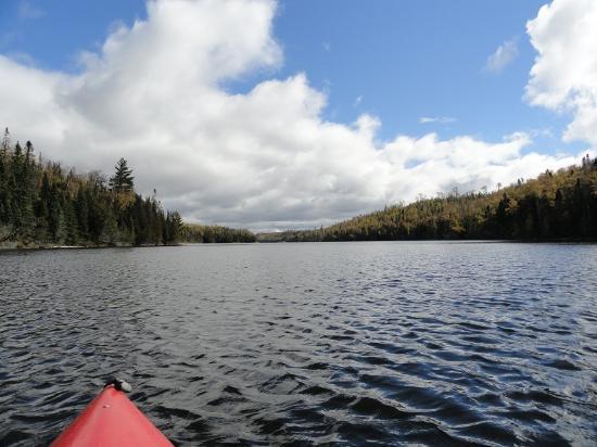 Loon Lake Lodge: kayaking on loon lake