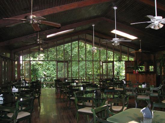 Selva Verde Lodge: Buffet Restaurant Upstairs