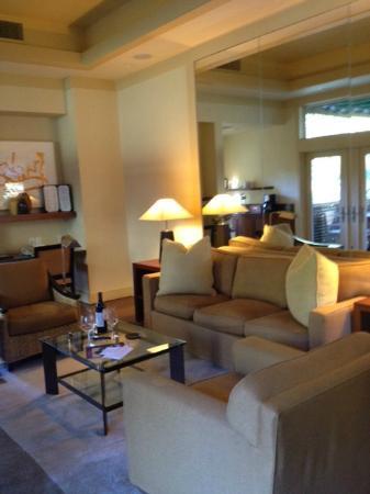 Calistoga Ranch, An Auberge Resort: Living Room