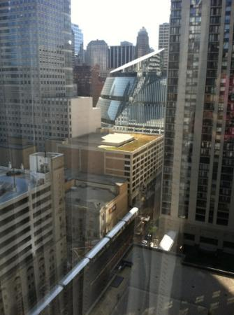 Renaissance Chicago Hotel: view on 21st floor