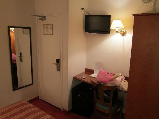 ジュネーブ, ホテル ド, 部屋