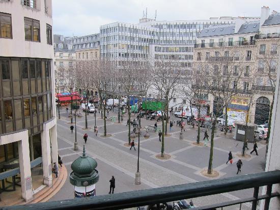 ジュネーブ, ホテル ド, 部屋からの眺め