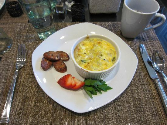 Inn on Randolph: Our delicious breakfast