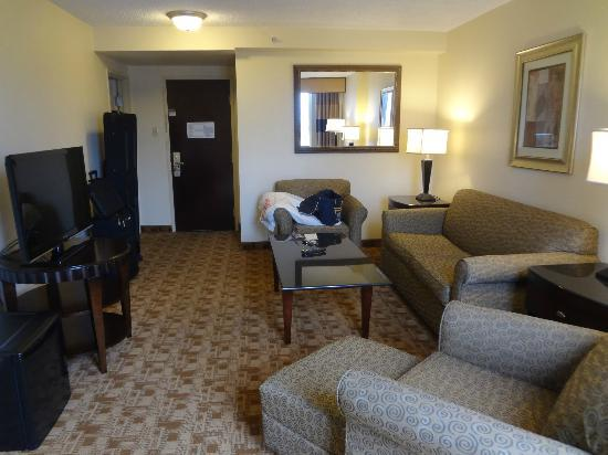 Crowne Plaza Austin: Living room
